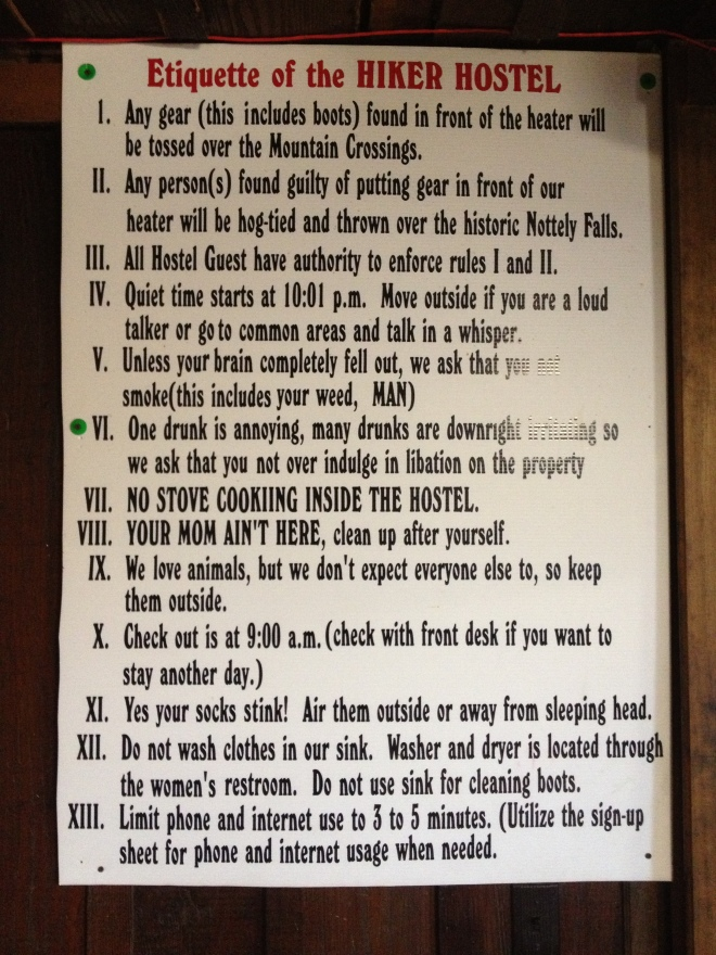 Hostel Rules