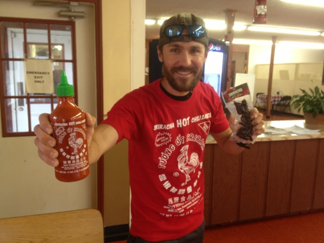Sriracha care package from Alla