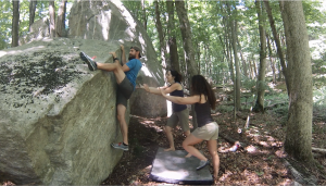 bouldering