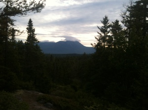 Katahdin view from Rainbow Ledges