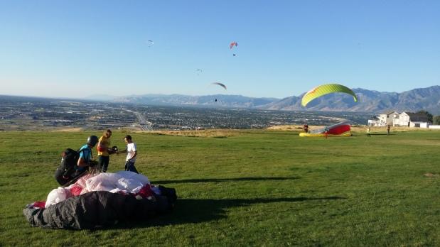 Paragliding & Camping – Salt Lake City,Utah